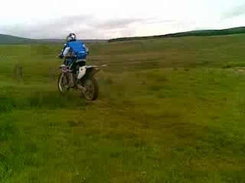 Drumclog enduro play about RMZ450 x2 YZF250  pt 2
