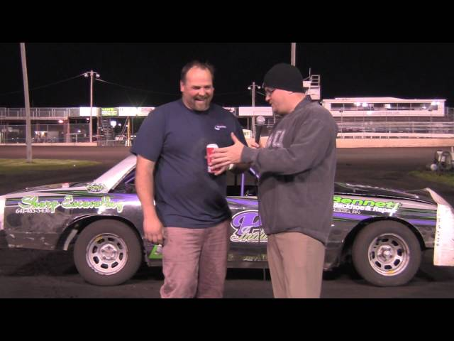 Chad Legere Hobby Stock Feature winner 05/02/15