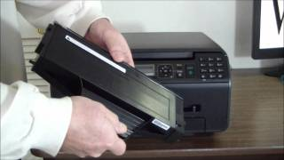 Panasonic KX-MB1520 Unboxing & Setup.wmv