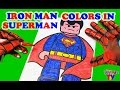 SuperHeroes SpiderMan Colors In Lego Superman Coloring Book ToyfunTV mp3