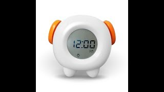 Toddler Stay In Bed Light Clock