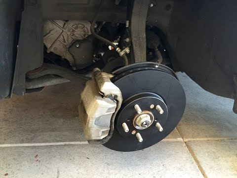 How to Change Brakes and Rotors 2010 Acura TSX