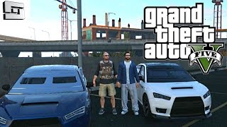 Grand Theft Auto V Online - THE FIRST HEIST! E3 ( GTA 5 )