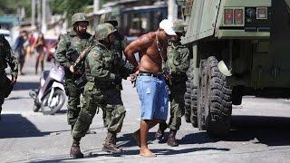 Diálogo entre traficantes sobre ação de Fuzileiros Navais na Maré