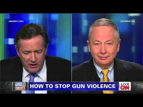 Piers Morgan and Larry Pratt Discuss Gun Control on Piers Morgan Tonight - Round Two