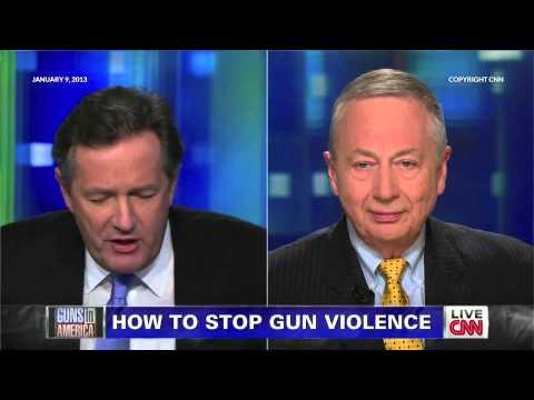 Piers Morgan and Larry Pratt Discuss Gun Control on Piers Morgan Tonight - Round Two