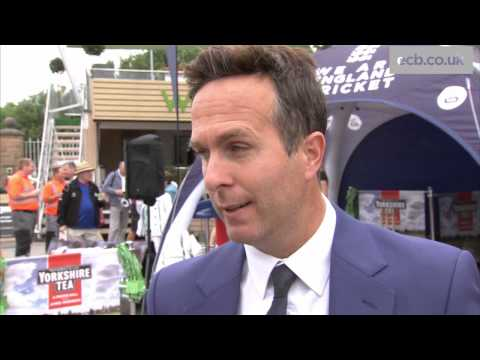 That was the most bizarre day - Michael Vaughan on Trent Bridge