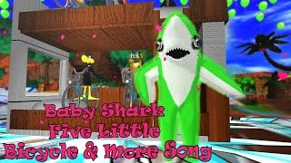 Baby Shark Five Little Bicycle & Many More Songs