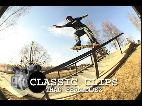 Chad Fernandez Skateboarding Classic Clips #91 Part 1