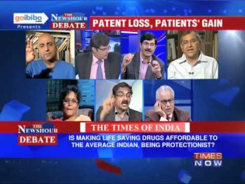 The Newshour Debate: Cancer Drug Patent V/S Cancer Patient (The Full Debate)