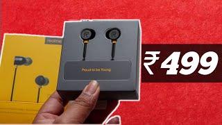 Realme Ear Buds Earphone Unboxing & Review : Best earphone Under Rs.500 !!