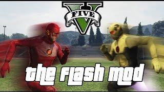 GTA 5 PC - The Flash Mod ! feat. Reverse Flash (Superhero MOD Gameplay)