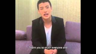 【Kang Ha-neul message to Malaysia fans】 - Movie