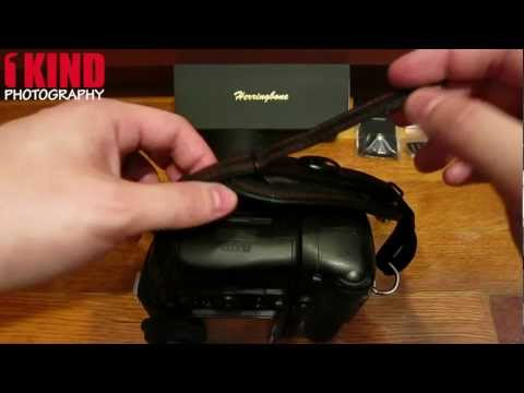 How to Install Herringbone Heritage Leather Hand Strap on your DSLR Camera