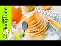 ПАНКЕЙКИ - PANCAKES / настоящие американские блинчики / оладьи / блины / простой классический рецепт