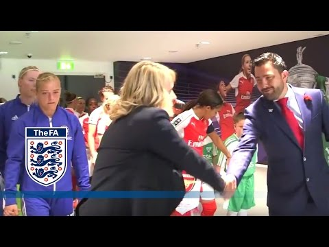 Tunnel Cam - Arsenal Ladies v Chelsea Ladies (2016 SSE FA Cup Final) | Inside Access