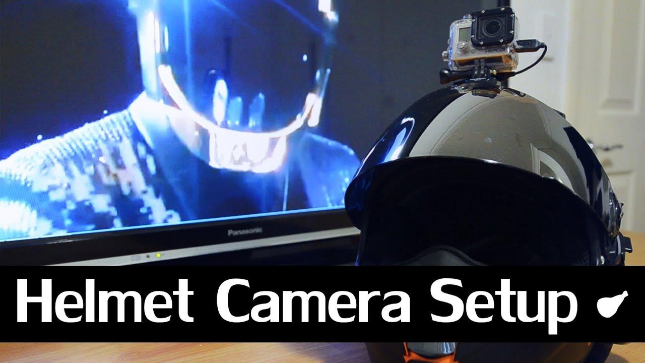 Helmet Cam Setup Helmet Cam Review