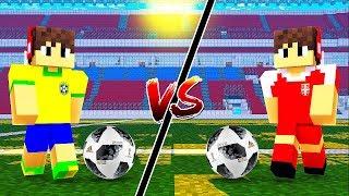 BRASIL vs SÉRVIA NA COPA DO MUNDO DOS YOUTUBERS NO MINECRAFT !!