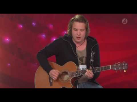Calle Kristiansson - walking in memphis [ IDOL 2009 AMAZING !] Video