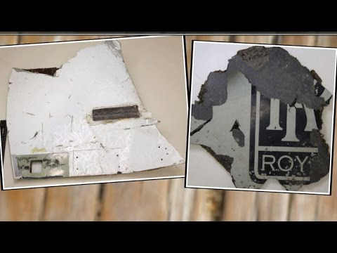 "Debris found ""almost certainly"" from MH370"