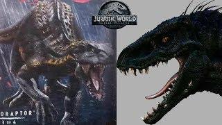 Indoraptor Full Design Showcased - Breakdown   Jurassic World Fallen Kingdom