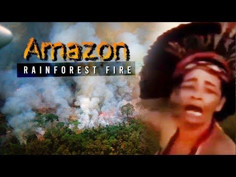 ANG SUNOG NA SISIRA SA BUONG MUNDO! Amazon rainforest fire