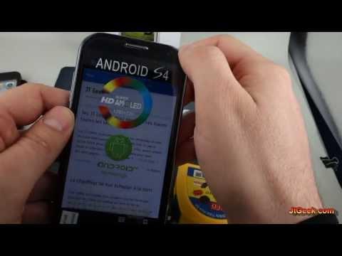 Test clone Galaxy S4 H9500 par le JT Geek