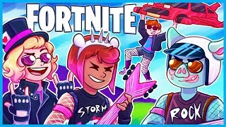 BACK TO THE 80's in Fortnite: Battle Royale! (Fortnite Funny Moments & Fails)