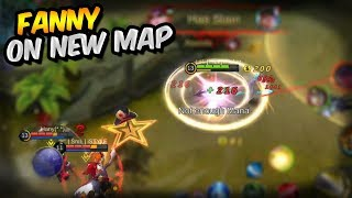 FANNY ON NEW MAP IS GOOD! MOBILE LEGENDS