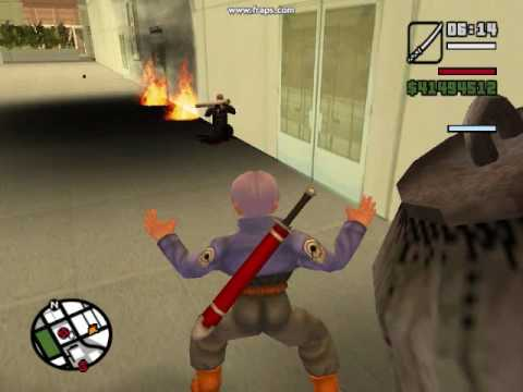 gta x files trunks vs el nemesis (loquendo)