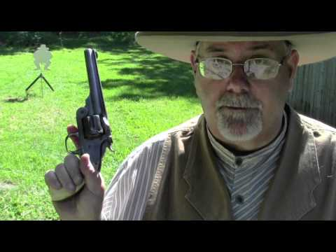 Smith and Wesson New Model No 3 Single Action Revolver.mov