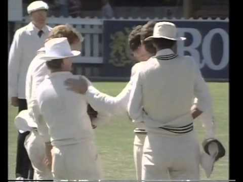 Javed Miandad 118 Shoaib Mohammad 163 vs NZ 2nd test 1988/89