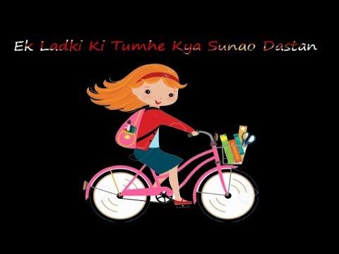 Ek Ladki Ki Tumhe Kya Sunao Dastan || WhatsApp status lyrics 2017 || Rk Music Cafe