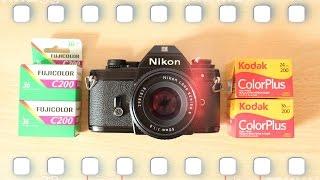 Analog Film für Anfänger und zum Kamera testen - Was taugen die neuen Billigfilm von Kodak und Fuji?