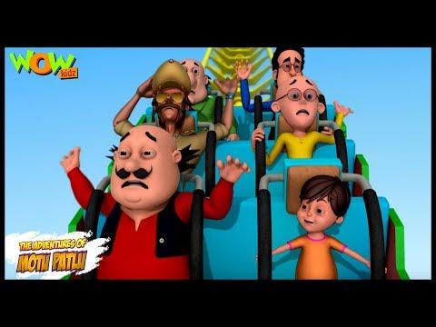 Amusement Park Mein Dhamaal - Motu Patlu in Hindi - ENGLISH, SPANISH & FRENCH SUBTITLES! thumbnail