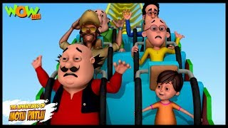 Motu Patlu Cartoons In Hindi |  Animated movie | Amusement park mein dhamaal | Wow Kidz