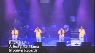 Boyz II Men Video - Boyz II Men - A Song For Mama (Live In 1997 Japan)