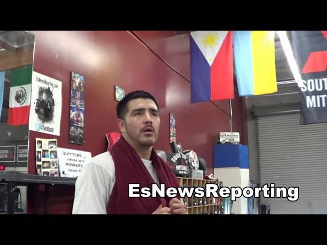 robert garcia and bradon rios on the viral video of boxer beating a reff EsNews