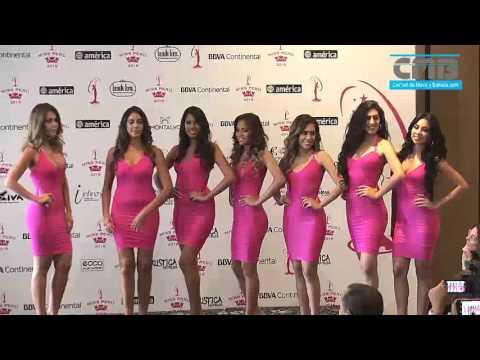 80 Candidatas (1er Grupo De 5)  Del Miss Peru Universo 2016