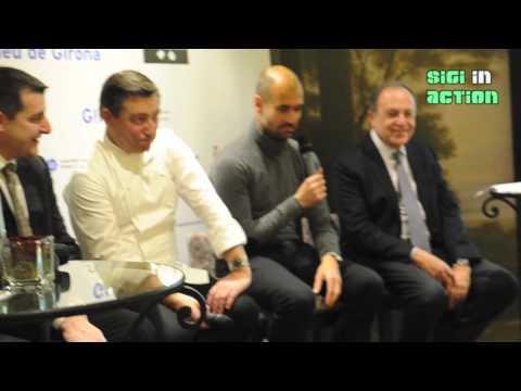 Costa Brava Abend mit FC Bayern Trainer Pep Guardiola @ Hotel Vier Jahreszeiten in Munich