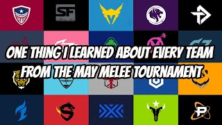 One Thing I Learned About Each Team From the OWL May Melee Tournament