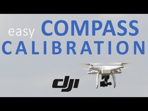 #9 DJI Phantom Tutorial - Easily calibrate the compass