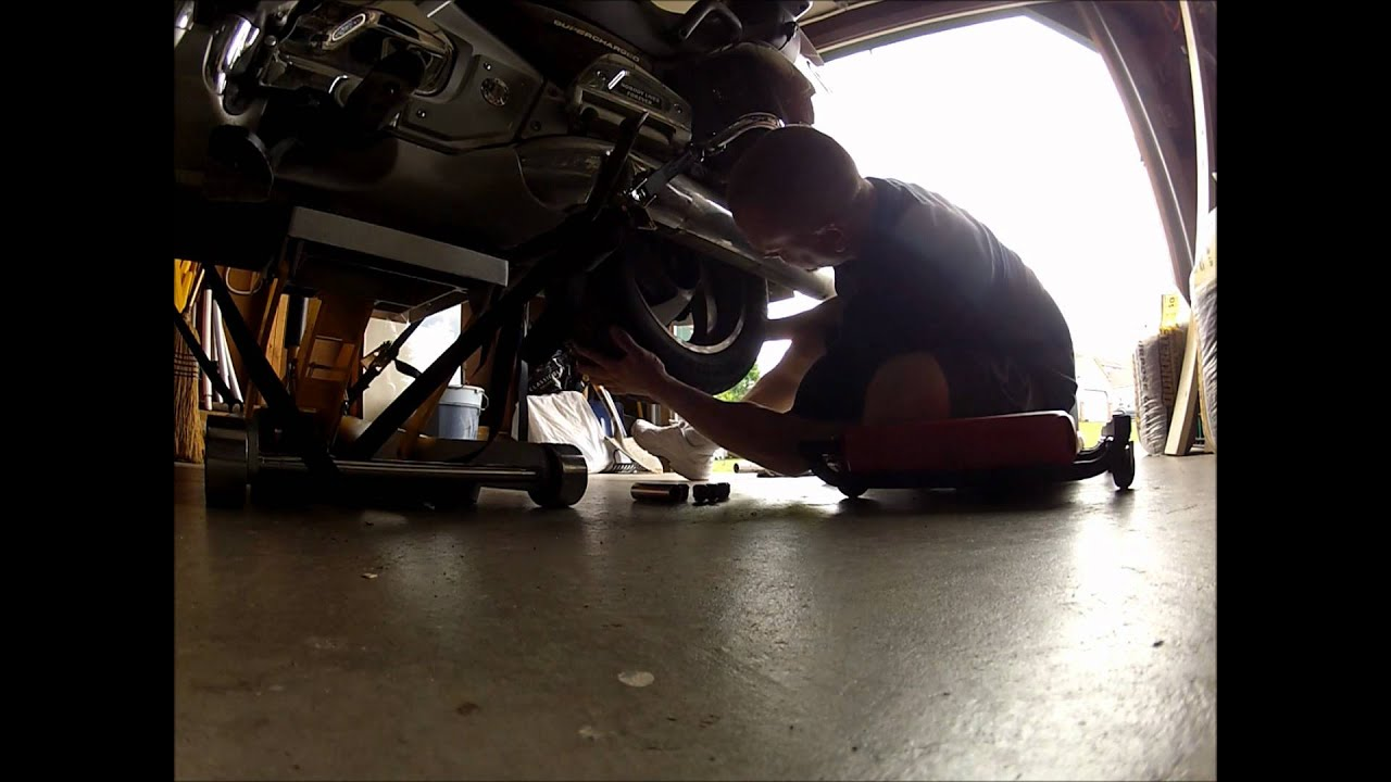 Sears Craftsman Motorcycle : Craftsman jack for removing motorcycle wheel youtube