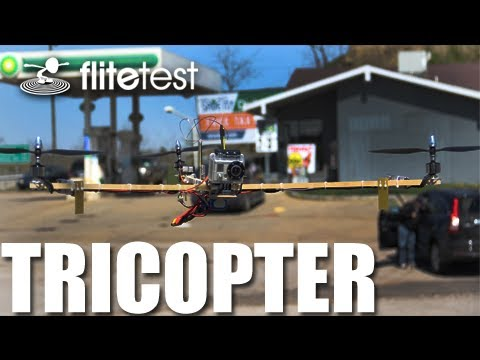 Flite Test - Tricopter - REVIEW