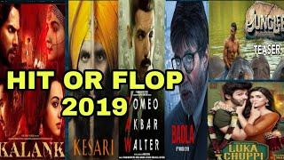 HIT OR FLOP | BOX OFFICE COLLECTION OF KALANK, ROMEO AKBAR WALTER, KESARI, JUNGLEE, BADLA 2019