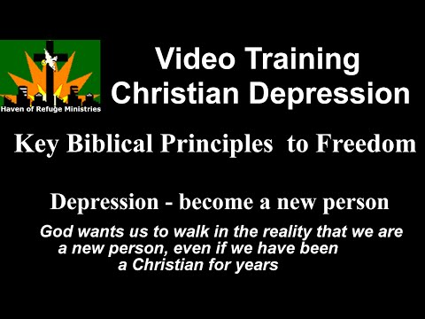 Christian Depression Key Biblical Principles | Christian Help For  Depresssion