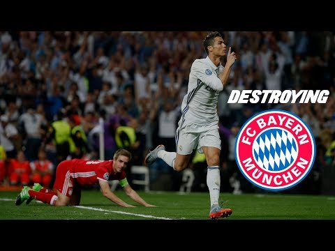 Cristiano Ronaldo - Destroying Bayern Munich - Best Skills & Goals 20122017