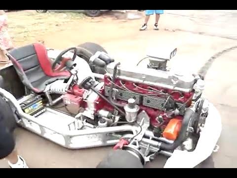 KART COM MOTOR DE OPALA 6 CILINDROS / SHOW DE BOLA / OPALEIROS VOLTA REDONDA