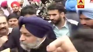 Punjab Polls:  CM Parkash Singh Badal, Sukhbir Singh Badal cast their votes