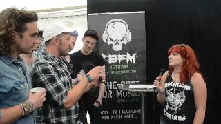Hill Valley High TBFM Interview Download Festival 2016